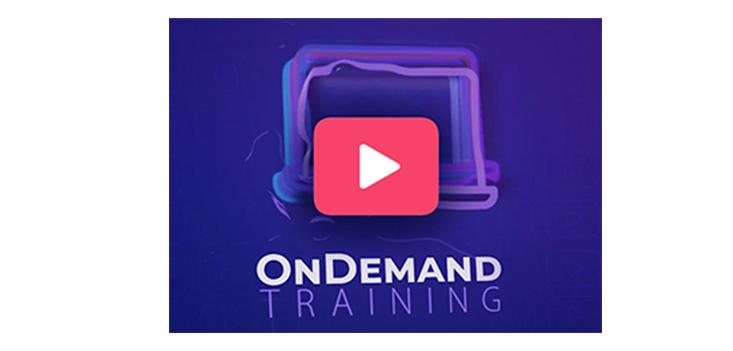 On Demand Training: un nuovo modo di imparare!